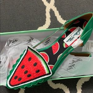 New in box Watermelon shoes size 36 or 6